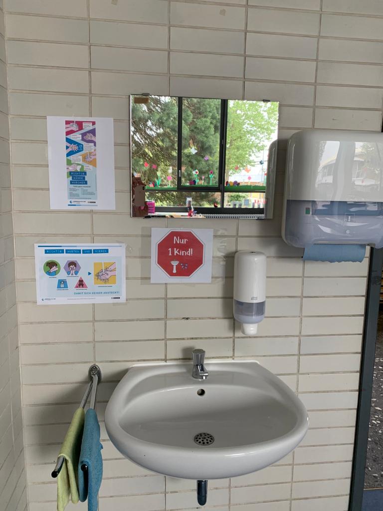 Hygienemaßnahmen an derSchule